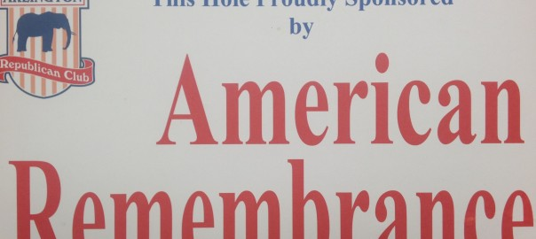 The Hole Proudly Sponsored by American Remembrance